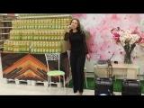 первое сольное выступление моей дочери в АШАН