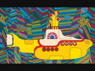 ᴴᴰ yellow submarine (the beatles) желтая подводная лодка (1968) (психоделический музыкальный мультфильм) 1080p