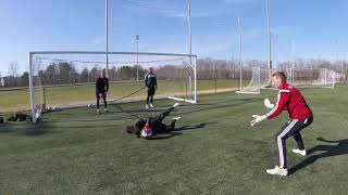 Excellent Strength and Resistance Goalkeeper Training