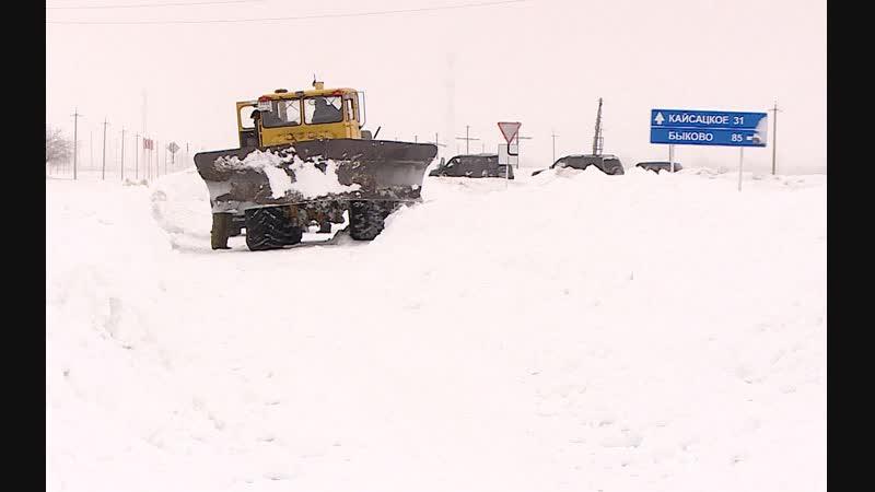 Палласовский район – в снежном плену