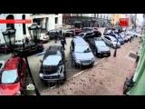 Угон BMW с $2млн долларов в центре Москвы