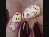 Осенние мотивы на ногтях