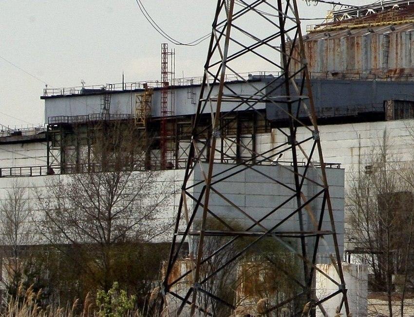 Обрушение стен и кровли машзала 4го энергоблока ЧАЭС