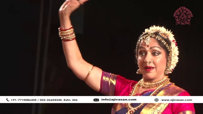 Hema Malini Graceful Bharatanatyam performance The Legends 2017 Ajivasan