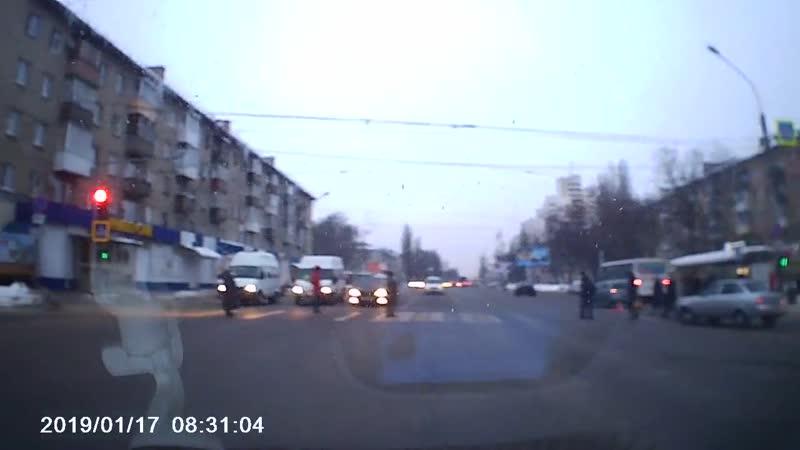 ДТП на 20-летия Октября (ост.Некрасова) - Регион -36