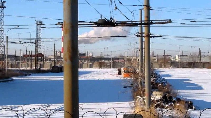 Территория закрытого троллейбусного депо №3 Челябинск