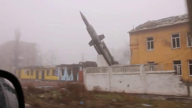 Донецк, воинская часть на ул. Стратонавтов. Декабрь, 2014