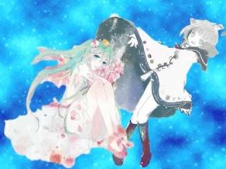 【Nijimine Kakoi】Sky Fish【Miku Hatsune】(Mix)