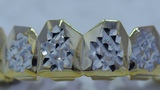 King Ice Gold Diamond Cut Grillz Accessories King Ice
