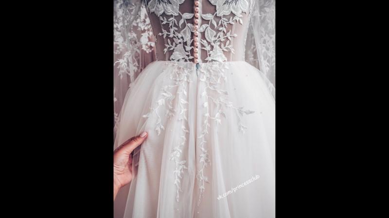 Процесс создания платьев - это очень красиво😋