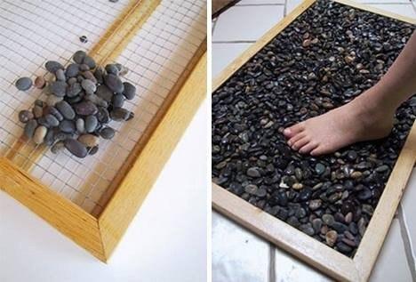 Идея для коврика в ванную