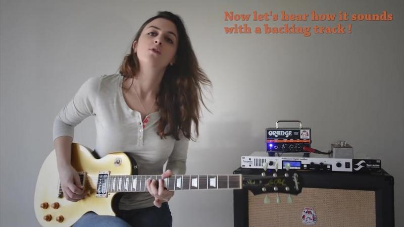 Laura Cox - Orange Micro Dark Demo - From Clean to Metal