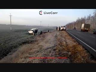 В ДТП с маршруткой под Ульяновском пострадали 19 человек