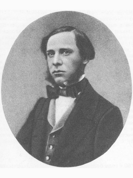 Михаил Салтыков в 1850-х годах.