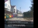 В Брянске мужчина сам сделал паровозик для детей