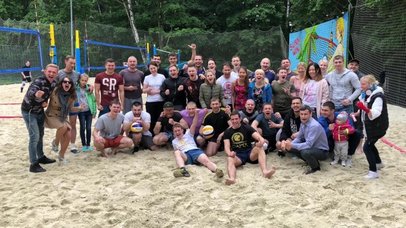 Благотворительный волейбол со Спартой