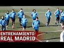 Тренировка Real Madrid previo перед матчем с Girona