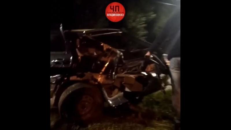 Авария на проспекте Коста 7