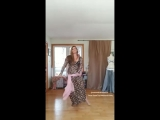 Cassandra Fox belly dances to -Amya Sayad- by Mahmoud Ellithy