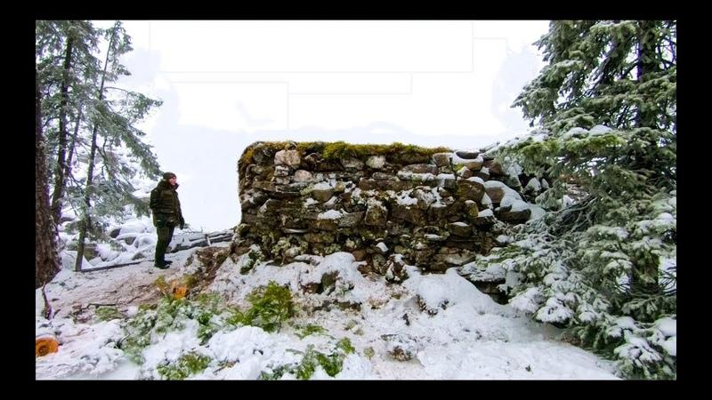 Построили КАМЕННЫЙ ДОМ в горах Building STONE HUT in the mountains | ИЗБА КАМЕННАЯ
