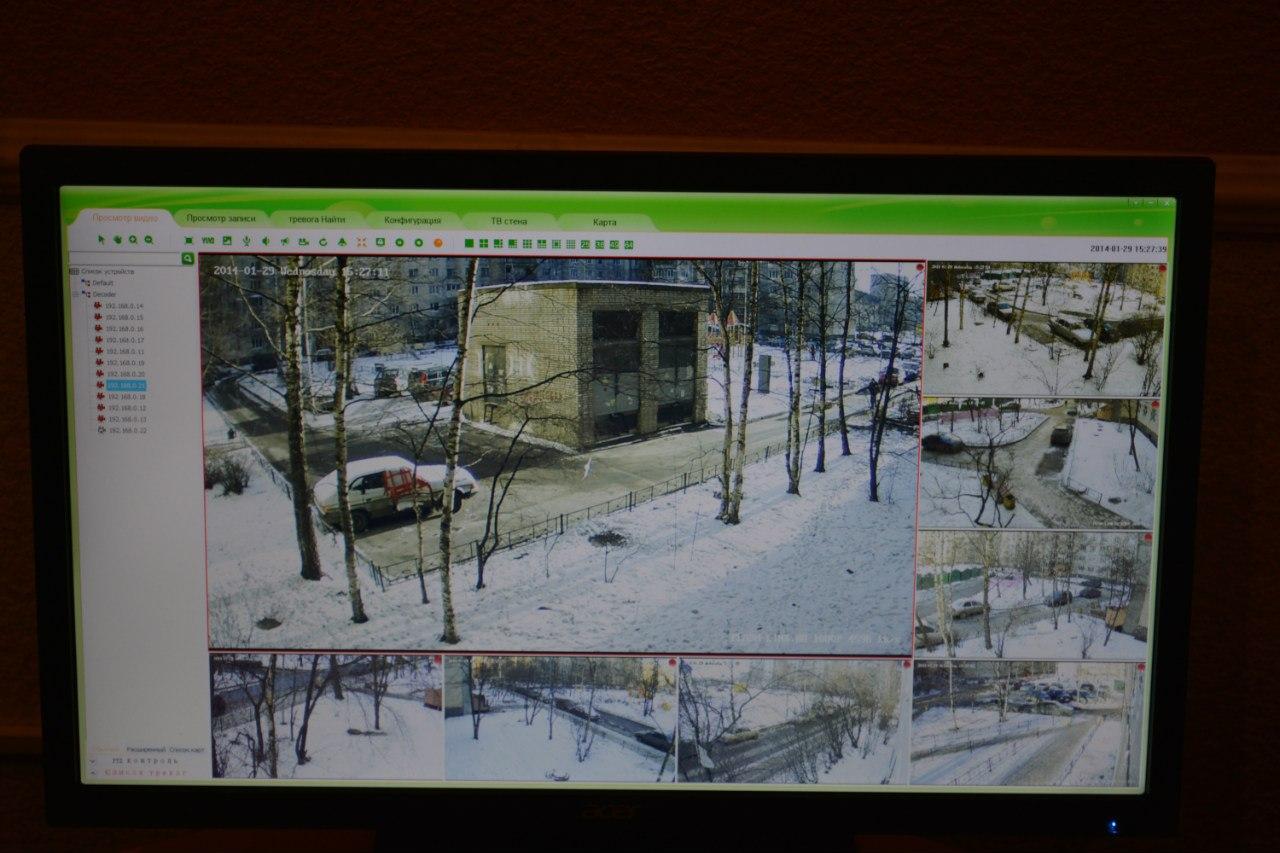монтаж системы ip видеонаблюдения для ТСЖ