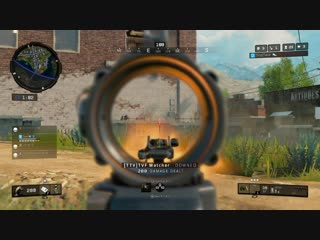 If you can't aim just throw a tomahawk...or two. Black Ops 4