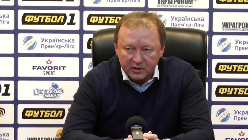 Післяматчева прес конференція Володимира Шарана