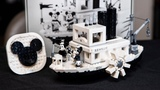 LEGO Disney Steamboat Willie REVIEW - Set 21317
