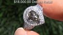 Natural Color Change Alexandrite Diamond Ring