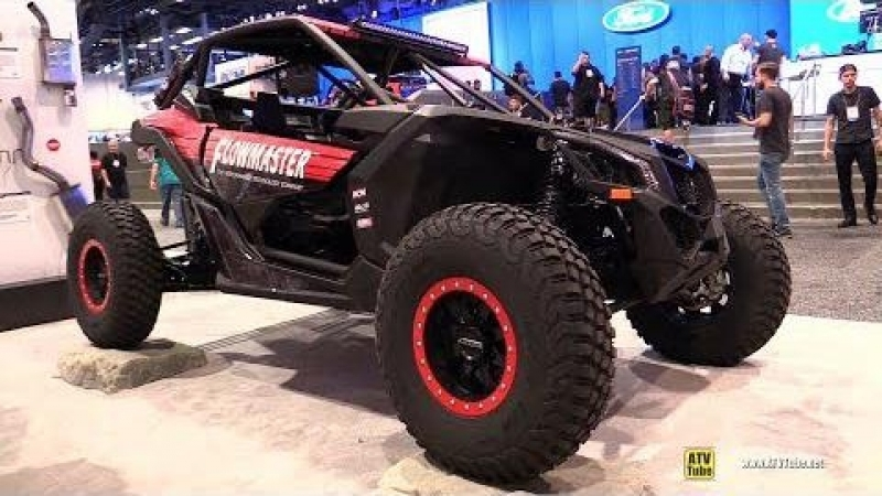 2018 Can Am Maverick X3-X RS Turbo R Flowmaster Custom ATV - Walkaround - 2017 SEMA Las Vegas