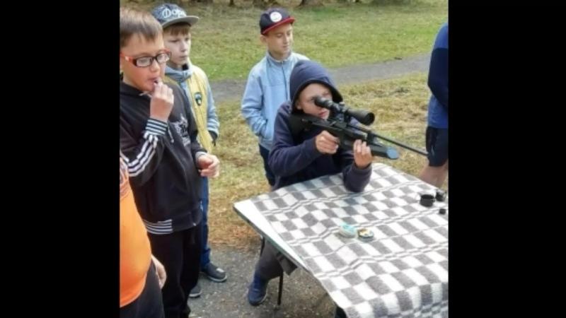 Воспитанники Военно-патриотического спортивного центраРазведчик были в детском лагере Восход