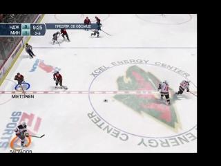 Пятая игра серии Minnesota Wild - New Jersey Devils(1/2).