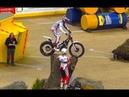 Прыжки на мотоциклах по припятствиям. X-Trial Сompetitions, motorcycles.