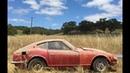 Datsun 240z restoration time lapse