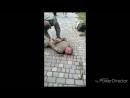 Пьяные правосеки в Одессе угрожали людям оружием и были избиты людьми