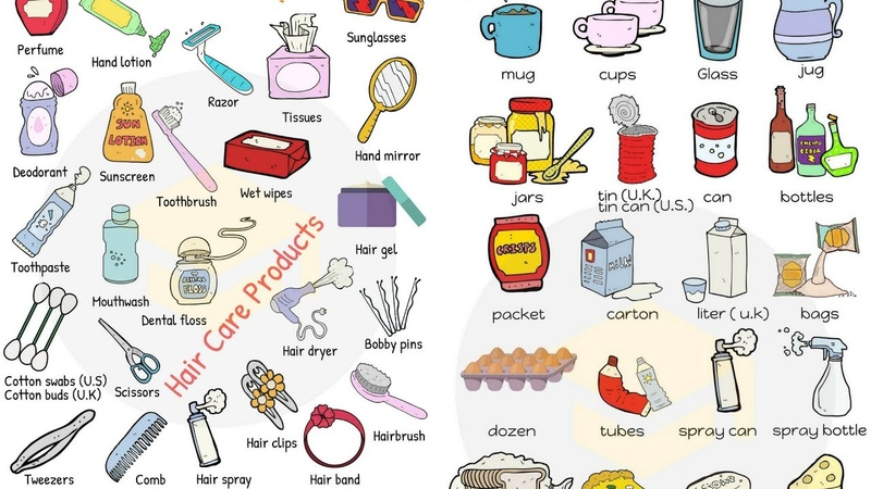 Learn English VOCABULARY Through PICTURES   10 Topics In 30 Minutes   English for Kids