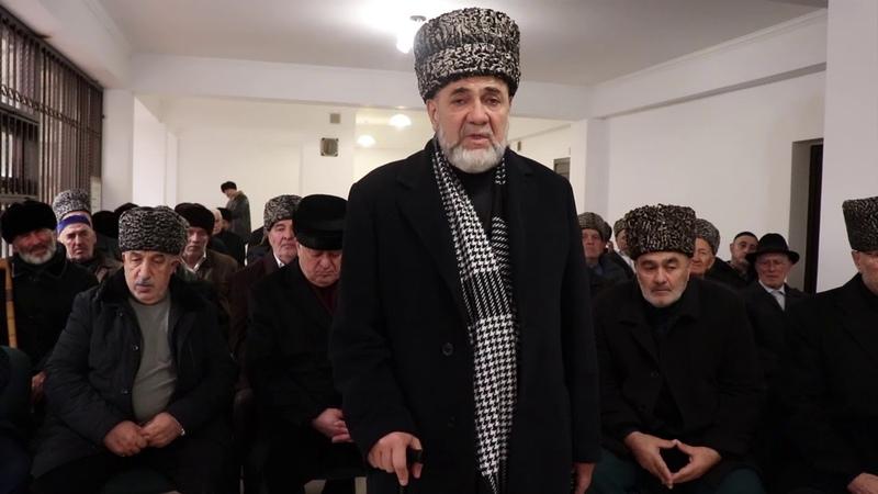 Обращение члена Совета тейпов ингушского народа Ахмеда Барахоева к молодежи Ингушетии