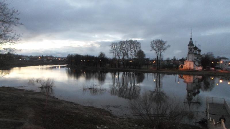 Вологда-река на закате! ГужевTV