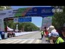 Финиш 3 го этапа многодневной велогонки Tour of Qinghai Lake
