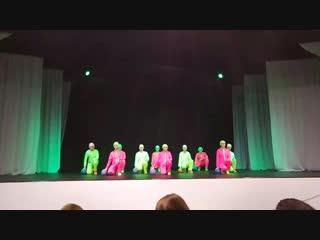 Конкурс Танцевальное единство-Питер 01.12.18 танец Мячики