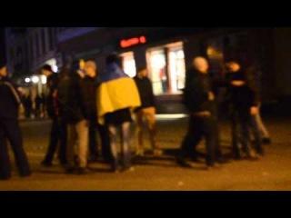П'яні провокатори на євромайдані в Івано-Франківську 27.11.13