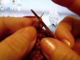 Носки от мыска с пяткой бумеранг.Как научиться вязать. Уроки вязания для начинающих