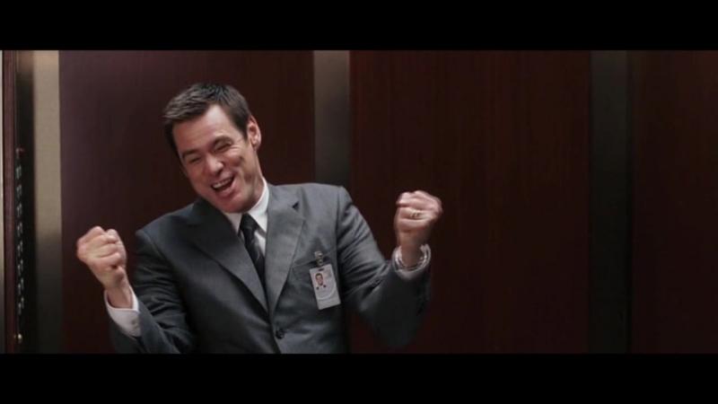 Отрывок из фильма с Jim Carrey (I Believe I Can Fly)