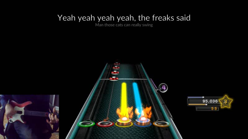 Clone Hero Deep Purple Space Truckin Guitar 97%