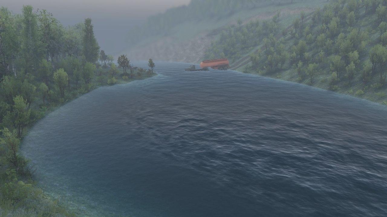 """Карта """"Bax6"""" для 8.11.15 и 23.10.15 для Spintires - Скриншот 3"""
