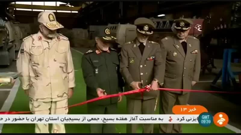 Иран сделал 4x4 пехотное мобильное транспортное средство, получившее название Toofan на производственной линии