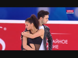 Чемпионат России 2019. Танцы - РТ. Софья ЕВДОКИМОВА / Егор БАЗИН