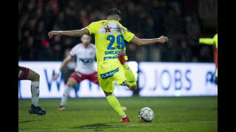 Verdediger De Smet trapt AA Gent meesterlijk voorbij KV Kortrijk