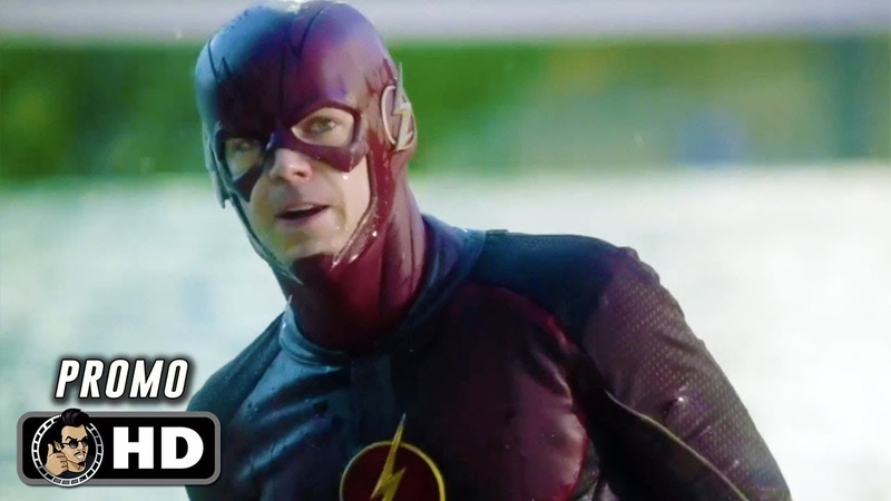 THE FLASH S05E02 Official Promo Trailer Blocked (HD) Grant Gustin DC Series