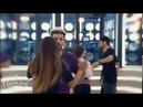 Agoney y Aitana bailando y abrazándose en clase de Pol Chamorro 28-10-17